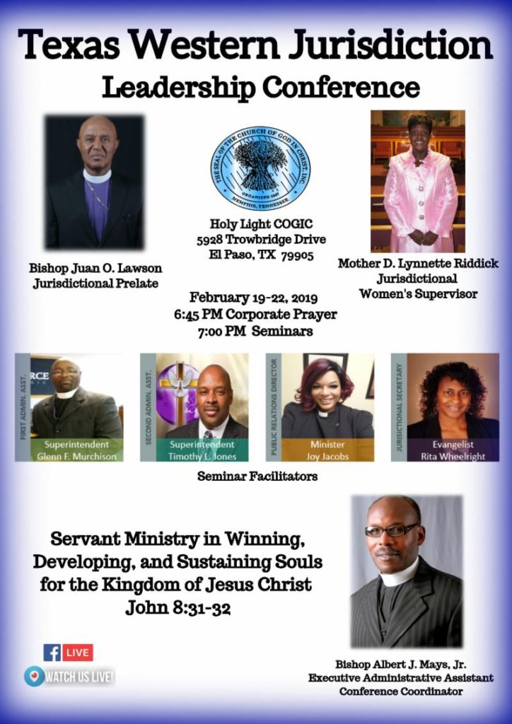 Headquarters Church: Holy Light COGIC